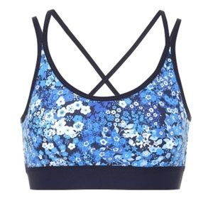 LIKE NEW Tory Sport Floral printed sports bra